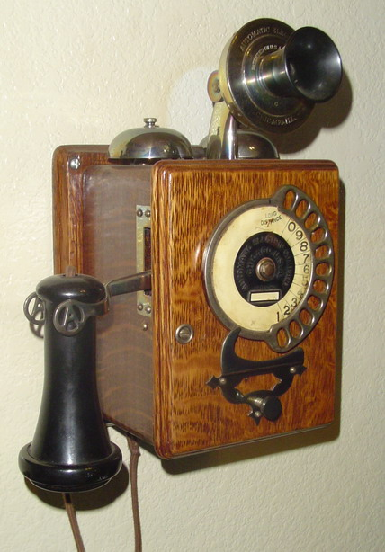 AE Strowger Wall phone 1